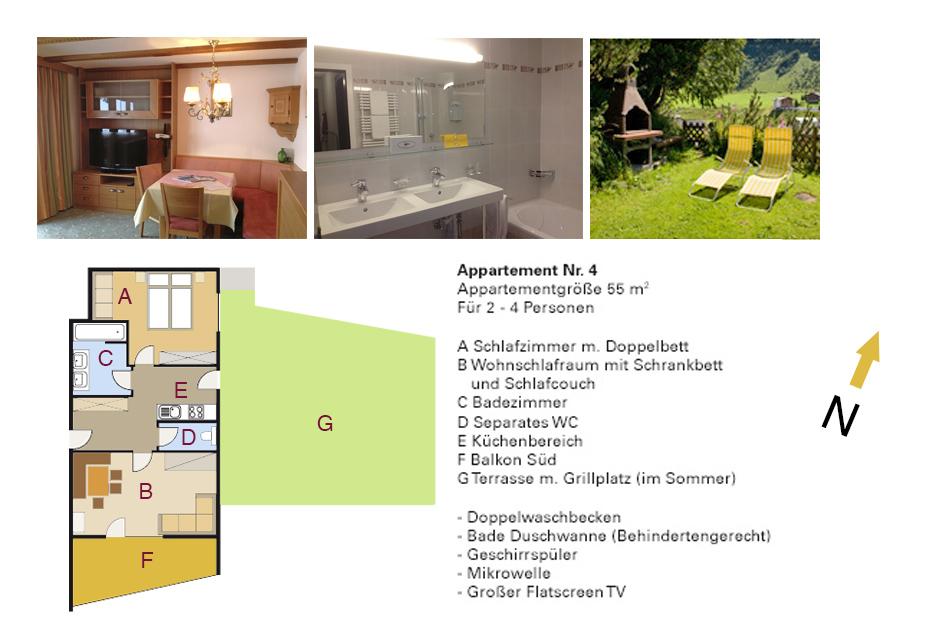 Apartments APPART ANDREA