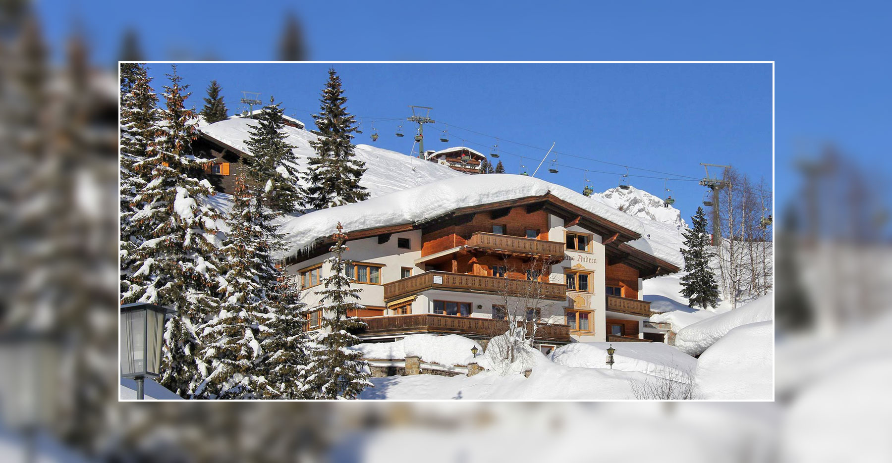 Lech Winter Bilder - Schneehöhen - Appartements Andera - Lech am Arlberg