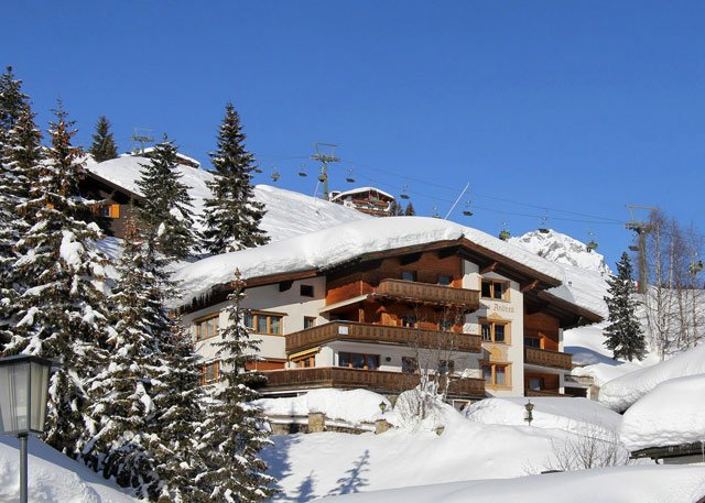 Kontakt Daten - Appartements Andera - Lech am Arlberg
