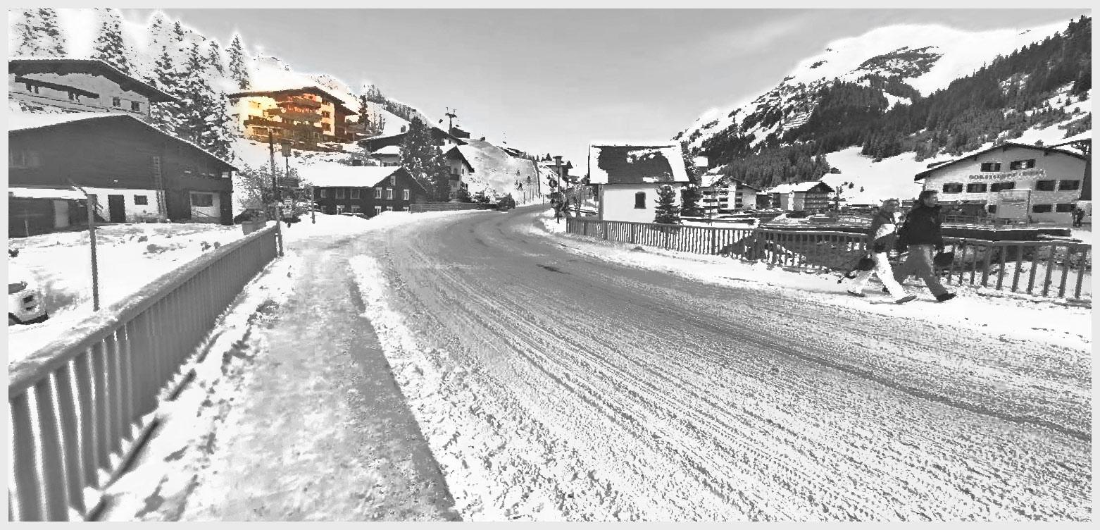 Lage und Anreise - Ferienwohnungen - Appartements Andera - Lech am Arlberg