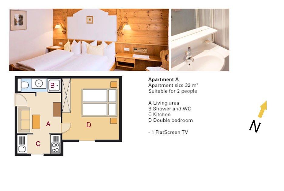 Lodging Apartment No. A - Apartments Andera - Lech Zürs am Arlberg