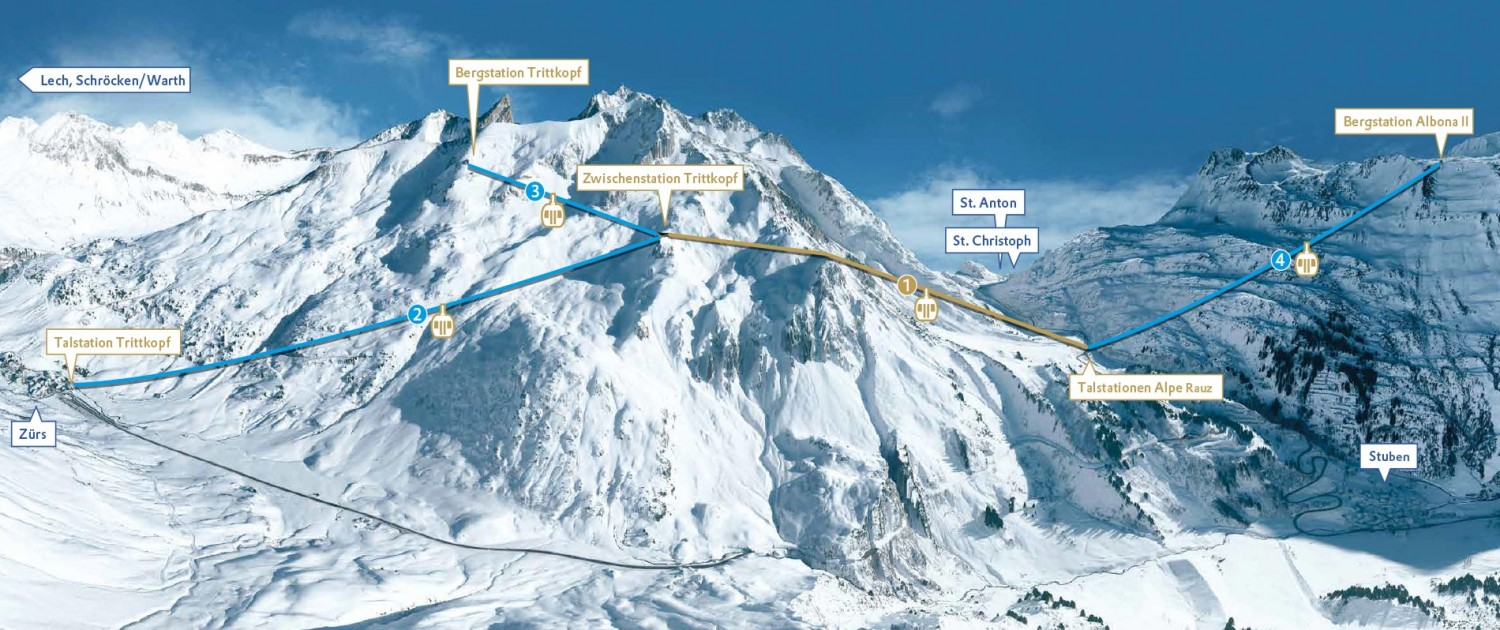 New Arlberg Cable Way Link Appart Andrea Lech Am Arlberg