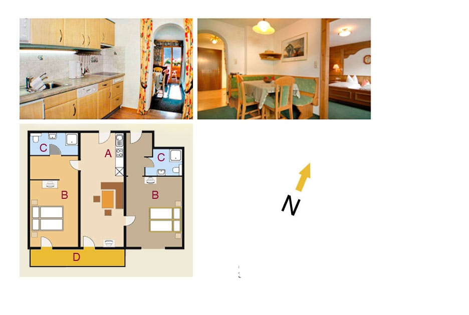 Floor plan Apartment #2