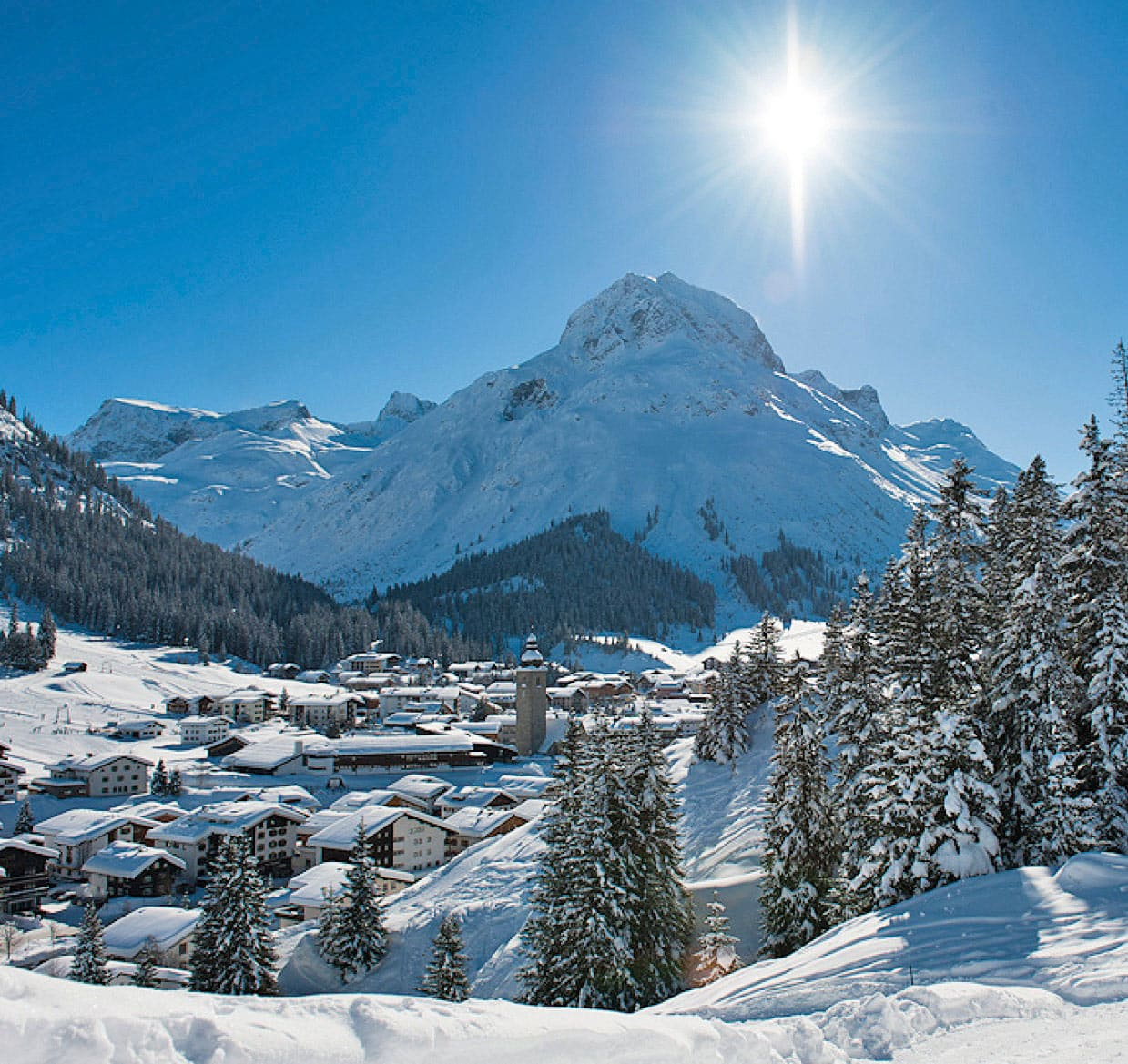 Appart Andrea - Lech Living in Wintertime