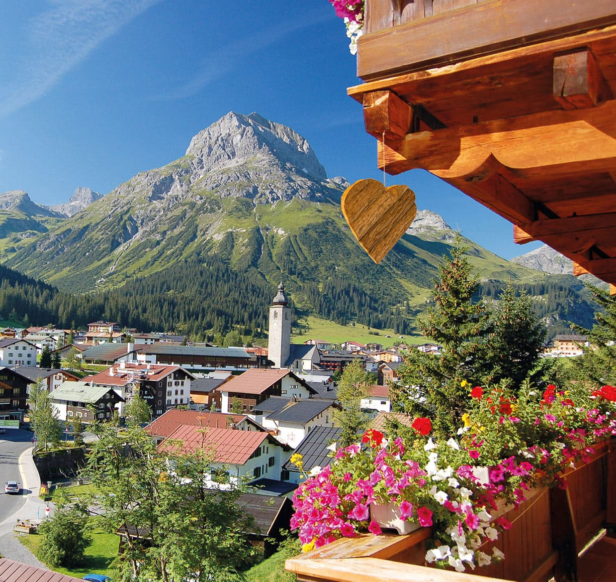 Appart Andrea - Summer Views in Lech am Arlberg